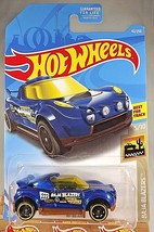 2019 Hot Wheels #42 Baja Blazers 5/10 HI BEAM Blue w/Black St8 Spoke Wheels - $5.94