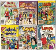 Laugh #34,128,149, Betty And Veronica 52,82, & Jughead With Archie 95 Digest Lot - $11.95