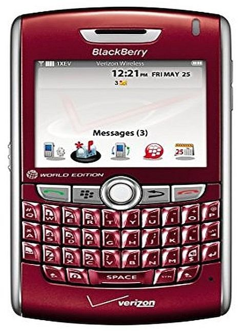 New Blackberry 8830 Red World Phone (Verizon)(Page Plus) QWERTY Cellular Phone