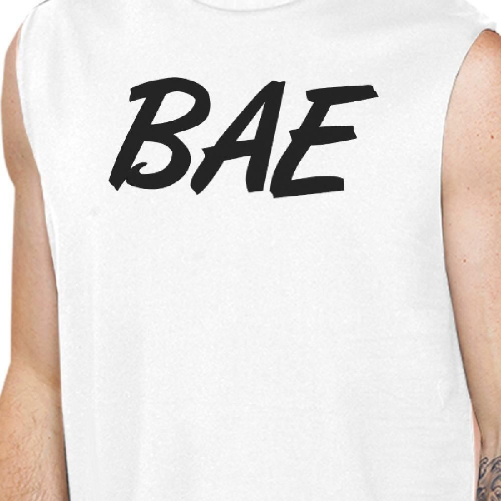 Bae And Owner Of Bae Matching Couple White Muscle Top