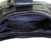 Wilsons Navy Blue Baguette With Silver Slide Lock image 4