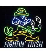 """NCAA Notre Dame Fighting Irish College Beer Bar Neon Sign 36"""" x 36"""" - $699.00"""