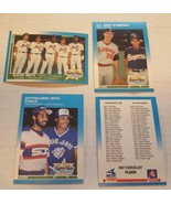 1987 Fleer baseball 4 card lot - $1.00