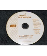 Anita Goodesign Embroidery Designs (CD ONLY ) ALL ACCESS VIP Club OCTOBE... - $23.75