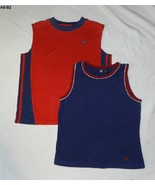 Adidas Red and AE Blue Sports Tank Tops SZ Lg & Med - $9.99