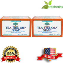 TEA TREE OIL BODY HAND 100% NATURAL Melaleuca ANTIFUNGAL HERBAL PURE SOA... - $12.74