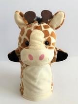 """Melissa & Doug Zoo Friends Giraffe 10"""" Hand Puppet - $11.29"""