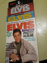 Vintage Elvis Presley Magazines Lot Of 4 Four 1980s Collectors Editions - $23.76