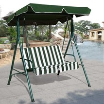 Deluxe Swing Chair Canopy Weather Resistant Glider Garden Porch Patio Co... - $107.61