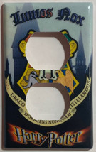 Harry Potter Lumos Nox Hogwarts Light Switch Outlet wall Cover Plate Home Decor image 2