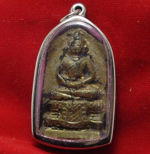 1896 LORD BUDDHA TANJAOMA THAI MIRACLE AMULET LUCKY RICH TRADE BEST FOR BUSINESS image 2