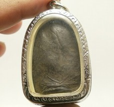 PHRA PERM THAI REAL BUDDHA BLACK ANTIQUE AMULET POWERFUL MAGIC WEALTH RICH LUCKY image 2