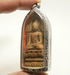 POWERFUL BUDDHA SHINARAJ DHARMA THAI ANTIQUE AMULET SUCCESS WEALTH RICH PENDANT image 3