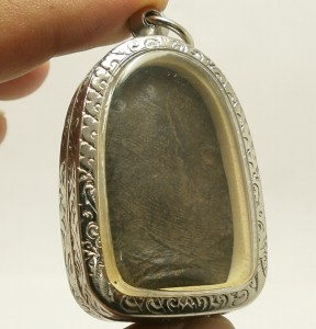 PHRA PERM THAI REAL BUDDHA BLACK ANTIQUE AMULET POWERFUL MAGIC WEALTH RICH LUCKY image 4