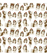 Shih Tzu Sheet Of Beautiful Wrapping Paper,Mothers Day,Birthday Gift Wrap - $7.50