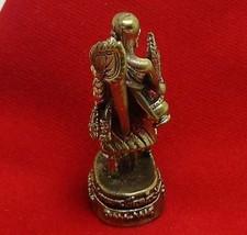 PHRA SIVALI SIVALEE THAI MINI BUDDHA AMULET RICH WIN SUPER LUCKY MERCHANT TRADE image 5