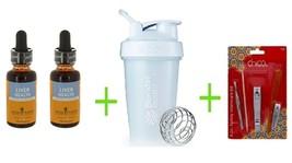Herb Pharm Liver Health Herbal Supplement 1 OZ (Pack of 2) + 20oz assort... - $98.85