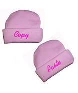 Copy and Paste Hats for Preemie and Newborn Twin Girls  - $13.00