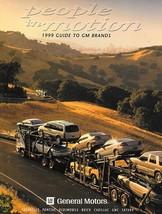 1999 GM CORPORATE brochure catalog US 99 EV1 Buick Cadillac Oldsmobile P... - $10.00