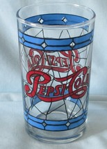 Pepsi Small Tiffany Glass 10 oz From Canada - $14.74