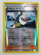 Pokemon XY Series Primal Clash - Professor Birch's Observations (Reverse... - $2.00