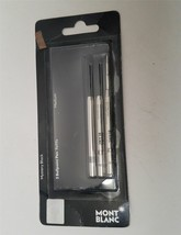 "Montblanc 107867 Set of 3 Black Medium Ballpoint Refills ""OPEN BOX missi... - $15.99"