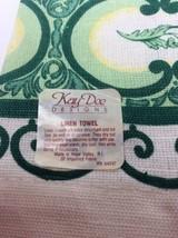 Kay Dee Designs Linen Kitchen Dish Guest Finger Tea Towel Pineapple Fruit Yellow image 2