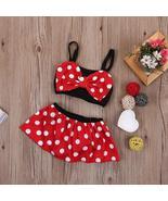 0-5 Years Baby Kids Girl Minnie Bikini set Swimwear Strappy Swimming Swi... - $14.99