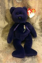 New Ty Beanie Baby Princess Diana 1997 Made in China P.E. Pellets NICE  ... - $29.69