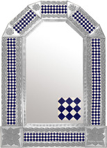 Tin Tile Mirror - $120.00