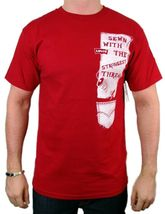 NEW NWT LEVI'S MEN'S PREMIUM CLASSIC GRAPHIC COTTON T-SHIRT SHIRT TEE RED image 3
