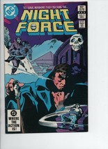 Night Force #5 - December 1982  DC Comics City on the Edge of Hell! Marv Wolfman - $1.76