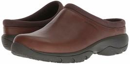 Merrell Mens Encore Rexton Slide Leather AC+ Mules & Clogs Shoes DK Earth J95263 - $93.50