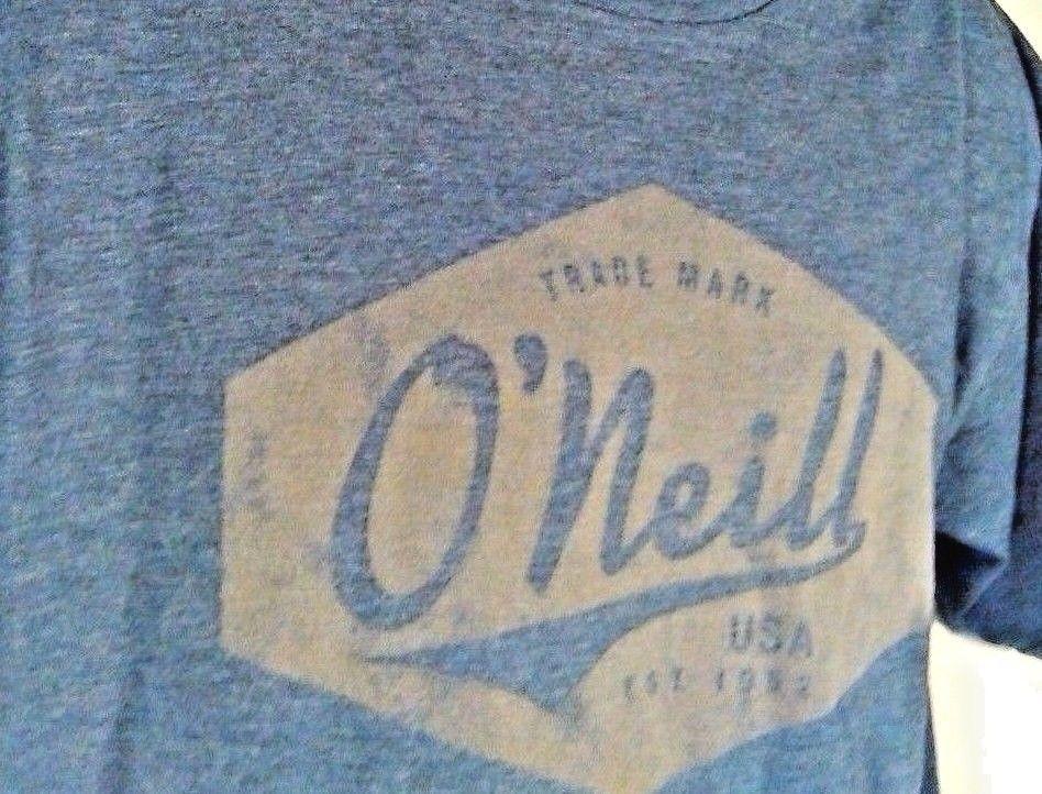 O'Neill Men's Short Sleeve Crew neck Lure Graphic T Shirt  Blue Sz M