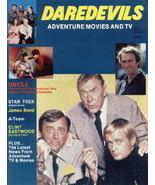 Daredevils Magazine #5 Man From UNCLE James Bond Star Trek 1984 UNREAD N... - $9.74