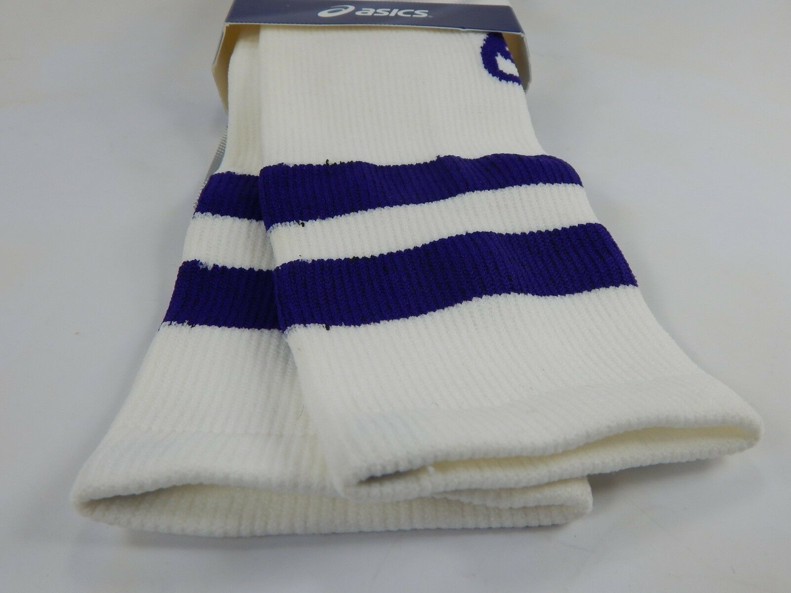 Asics Old School Chaussettes Hautes Genoux TAILLE S BLANC Femmes Taille: 6-7.5