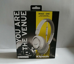 Klipsch Image One II White on Ear Closed Back Headband Folderable Headph... - £15.81 GBP