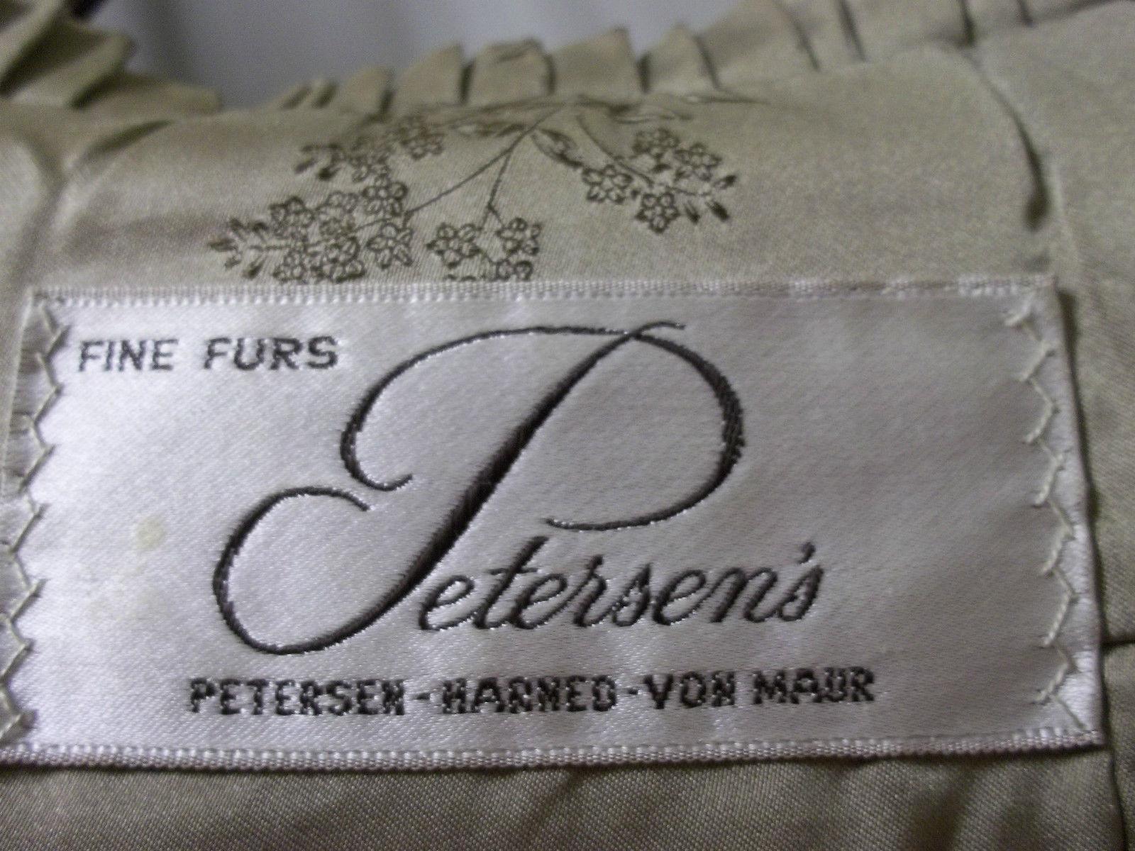 Luxurious Amazingly Soft Tan Mink Cape Petersen's Fine Furs Women's Medium image 5