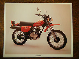 80 Honda XL80S Nos Oem Dealer's Sales Feuille Brochure Xl XL80 80 80S S - $90.07