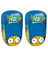 The Simpsons Tic Tacs Marge Simpson Limited Edition Blueberry 200 Count ... - $12.11