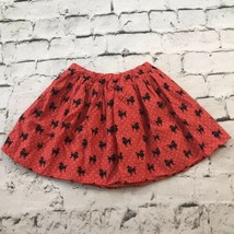 The Childrens Place TCP Skirt Girls Sz 7/8 Red Poodle Print - $9.89