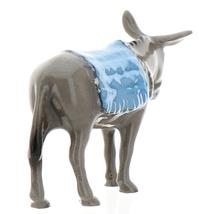 Hagen-Renaker Specialties Ceramic Nativity Figurine Donkey with Blanket image 4