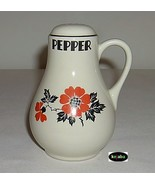 Hall Red Poppy Shaker Pepper Handled #2 - $16.50