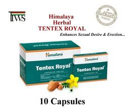 Himalaya Herbal Tentex Royal 10 Capsules Ayurvedic Composition - $4.46+