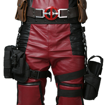 Deadpool Wade Wilson Belt&Tactical Leg Bag Pockets Holster Cosplay Props - $90.91 CAD