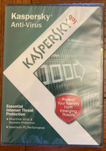 KASPERSKY Anti-Virus Protection PC Computer Security Software Complete w... - $17.74