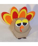 10 Sleepy Turkey Thanksgiving Favors Party **Kit** - $8.99