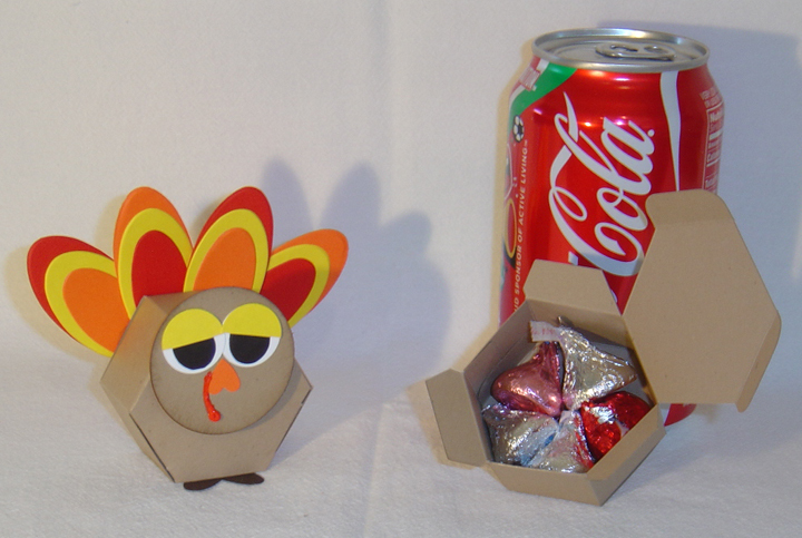 10 Sleepy Turkey Thanksgiving Favors Party **Kit**