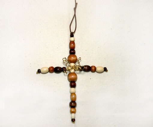 Orn cross wood bd1