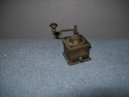 Vintage Miniature Pencil Sharpener, Antique Coffee Grinder - $5.00